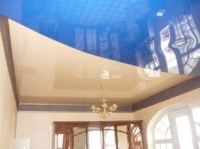 натяжные потолки тканевые глянцевые сатиновые матовые
