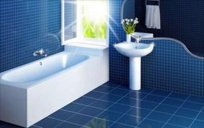 облицовка плиткой в ванной комнате фото