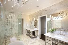 укладка плитки в ванной комнате фото