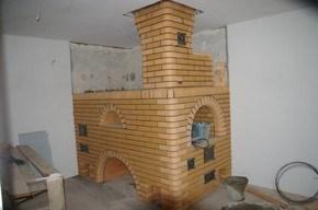 кладка кирпичных печек в Минске